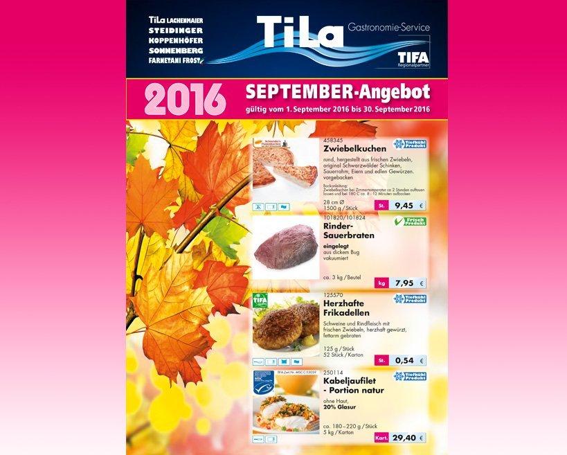 Tila Lachenmaier September-Angebot 2016
