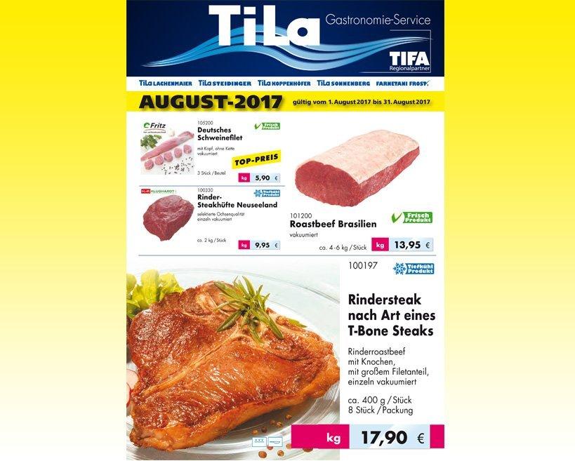 August-Angebot 2017 Tila Lachenmaier