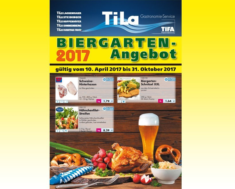 TiLa Biergarten-Angebot 2017